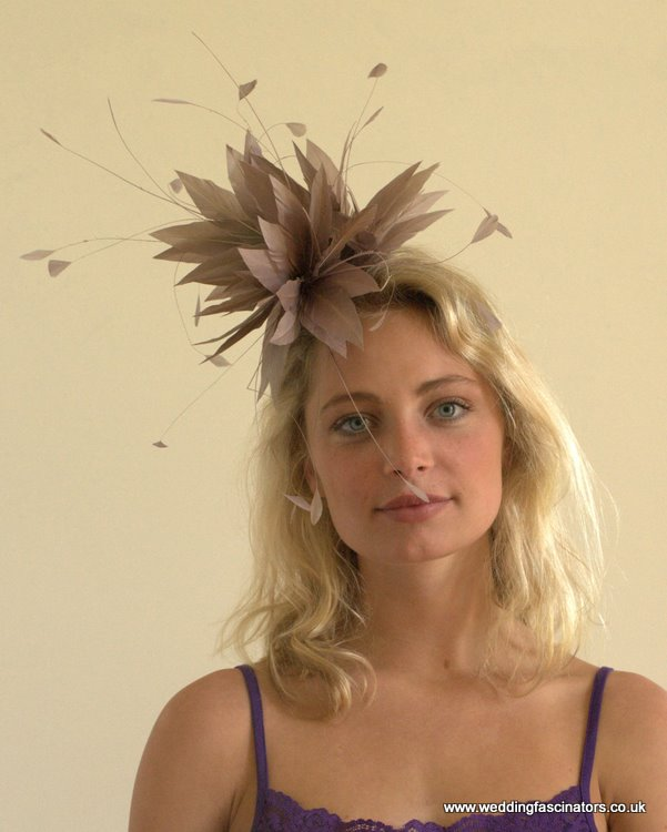Heather Belgravia fascinator