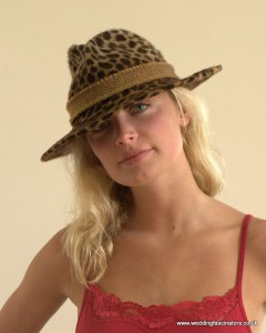 Leopard Skin Trilby from Jemma Loveridge